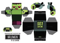 Blog_Paper_Toy_papertoys_Halloween_Gus_Santome_Frankenstein_template_preview
