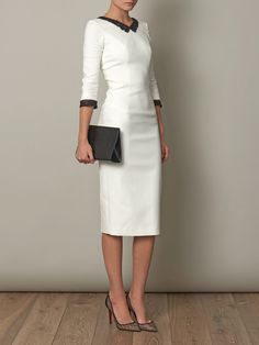 L'WREN SCOTT Headmistress fitted dress                                                                                                                                                                                 More
