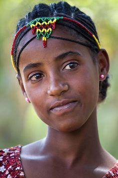 239. Girl from the Gurage minority - Ethiopia.jpg 533×800 pixels