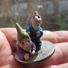 12  Easy to Make Accessories for Fairy Gardens: Make Tiny Garden Gnomes