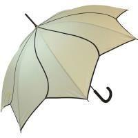 PARAPLUIE Parapluie forme Fleur - Beige - Automatique