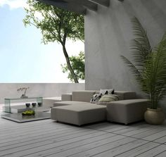 beautifully composed space, minimal and serene