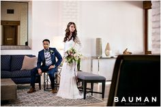 Classic, modern lobby complements their clean look.   Lomas Santa Fe Styled Shoot, Photography by Bauman Photographers  View More: http://baumanphotographers.com/blog/features/2016/05/inspiration-session-lomas-santa-fe/