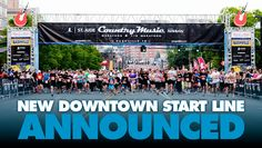 New DOWNTOWN start line for 2014 Country Music Marathon