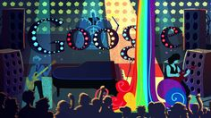 A Google doodle tribute to artist, performer, and pioneer Freddie Mercury for his 65th birthday.
