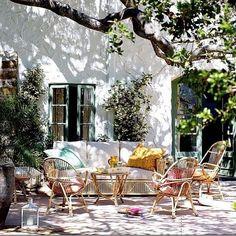 perfect patio via hauteindoorcouture