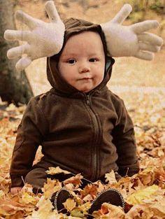 disfraz casero nino reno