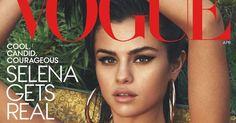 Selena Gomez cuenta todo por primera vez en Vogue America #Actualidad #Celebridades #abril #april #cover