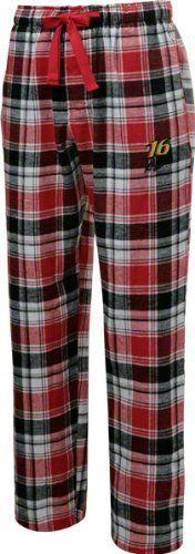 Greg Biffle Red/Black Legend Flannel Pants by College Concepts. $25.99. Make every night a moment to cheer on your favorite race car driver while you drift off to dream land in these Greg Biffle Red/Black Legend Pants. Cozy and soft, these flannel lounge pants with and embroidered logo on the left leg are the perfect thing to wear when you are counting laps instead of sheep.