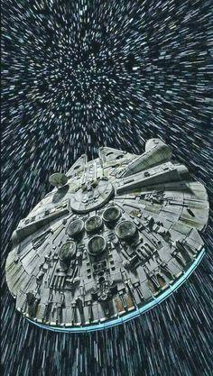 Millenium Falcon ...