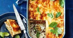 Creamy ricotta and beautifully chargrilled veggies make this lasagne dish one you won't want to miss.
