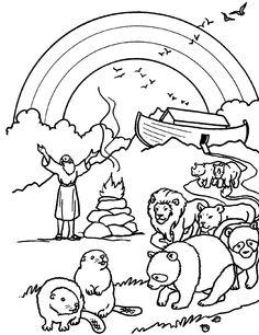 """Noé com sua família saiu da Arca e ofereceu um sacrifício de louvor a DEUS, e abençoou DEUS a Noé e a seus filhos, e disse-lhe: """"Frutificai e multiplicai-vos, e enchei a terra."""" (Gênesis 8:15-21)"""