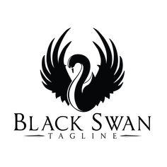 Black swan logo.
