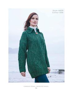 Carraig Donn Irish Knitwear 2016 Collection from the largest Home Based Irish  Knitwear Manufacturer. Irish 6b4964990
