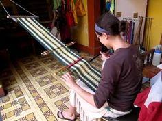 Weaving on the Backstrap Loom