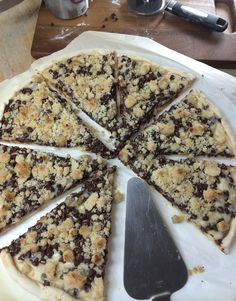 Chocolate Chip Dessert Pizza... Might just be my best recipe yet