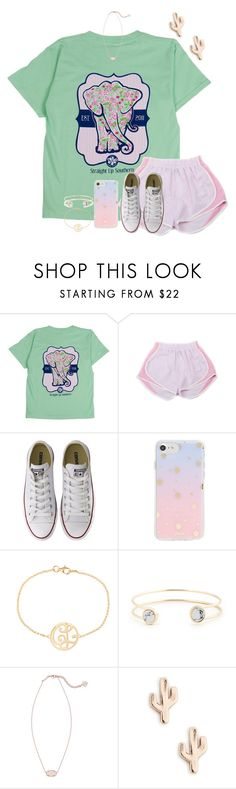 """testing day 2 💖😫"" by mmadss ❤ liked on Polyvore featuring Itsa Girl Thing, Converse, Sonix, K Kane, Sole Society and Kendra Scott"