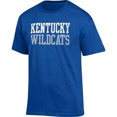 Champion Men's Kentucky Wildcats Blue Jersey T-Shirt, Size: Large, Team