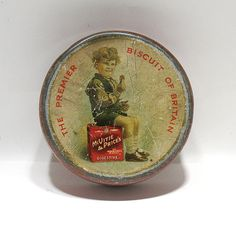 Vintage Biscuit Tin McVite & Price's Digestive by OnlyCoolStuff