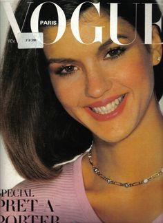 Janice Dickinson, Vogue Paris, February 1980. Photo Mike Reinhardt