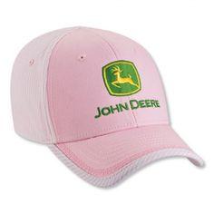 John Deere Youth Pink Conductor Cap - Hats - Kid's & Baby | RunGreen.com