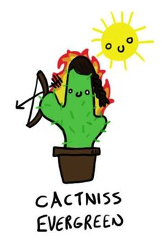 "This plant: | 27 ""Hunger Games"" Puns You Can't Help But Laugh At"