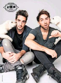 I don't know if anybody wanted these but Jack's snapchat is jbman and Alex's is alexalltimelow