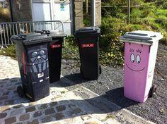 Décorer sa poubelle ;)
