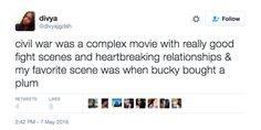 """Bucky BOUGHT those plums. 