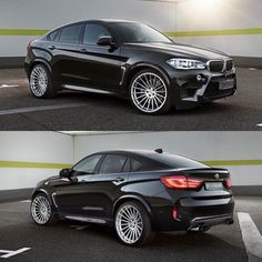 "BMW X6M with 23"" Anniversary EVO wheels by Hamann Motorsport • Contact @tunersource toll free 1.855.6TUNING or email sales@tunersource.com for all inquiries 