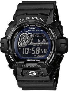 Casio GR-8900A-1ER G-Shock Men's Solar Digital Watch with Resin Strap