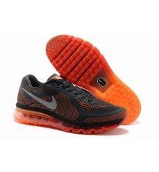 d5f87d30db379 Soldes Nike air max 2014 homme en maille chaussures coussin de palme  ensemble charbon grise d