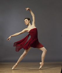 Tiler Peck is gorgeous! She's been dancing with New York City ballet for a decade and has also participated in musical theater productions such as Little Dancer and Carousel.