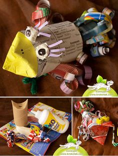 Recycled Craft CHICKEN