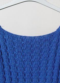 Kup mój przedmiot na #vintedpl http://www.vinted.pl/damska-odziez/dlugie-swetry/10830221-dlugi-dziergany-sweter-niebieski-m