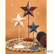 Rustic Americana Standing Stars ~ I Have Always Loved The Rustic Star Decor