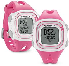Garmin Forerunner 10 (FR10) GPS running watch in pink