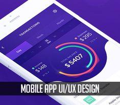 25 modern mobile app ui design with amazing ux Web Ui Design, Mobile Ui Design, Graphic Design, Ux User Experience, Restaurant App, Mobile App Ui, Music App, User Interface, Ui Design