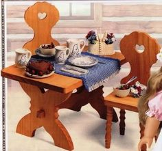 Kirsten's Birthday Table