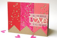All You Need is Love Card  PTI