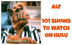 ALF- 101 Shows to Watch on Hulu #watchtvonline Watch Tv Online, Movie Posters, Movies, Films, Film Poster, Cinema, Movie, Film, Movie Quotes