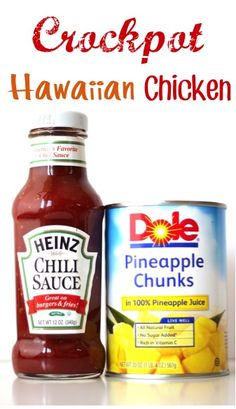 .Crockpot Hawaiian Chicken
