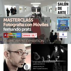This Saturday, 13hs: free 'Mobile Photography masterclass' + @gramcanvas Exhibition at #Espacio120. Join us to start celebrating Instagram's Day! #catalunyawwim9 • With the support of @termesvictoria, #CaldosAneto & @Vino Afortunado • We'll also giveaway one box of 47 Polaroids, courtesy of @paper_lover, to the best photo shot & published during @Fernando Prats' masterclass (the winner'll choose his/her photos). Book your place with an e-mail to exposiciones @ gramcanvas.com