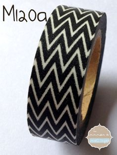 Washi Tape negra WW