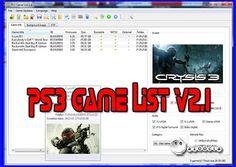 A cierta100cia: PS3 Game List v2.1
