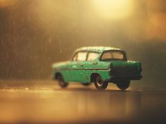 My miniature cars photography series.
