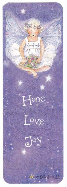 Wishing Angel Bookmark : Becky Kelly Shop