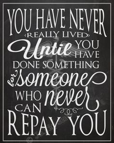 """Doctor Medical Gift INSTANT DOWNLOAD Printable Wall Art Office Decor Thank You - This is one of my favorite quotes: """"You have never really lived until you have done something for someone who can never repay you."""" Doesn't it just make you tear up?! Reminds me of so many people! It's the perfect gift for doctors, physicians or specialists who have taken care of you or someone you love, decor for your office or front desk, MD friends, congratulations,  graduation, retirement, etc."""