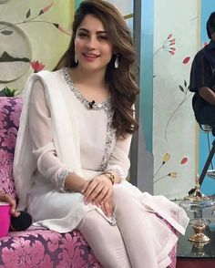 Promotion for Album ! See you guys tomorrow ! Simple Pakistani Dresses, Pakistani Dress Design, Indian Dresses, Indian Outfits, Wedding Dresses For Girls, Party Wear Dresses, Indian Designer Outfits, Designer Dresses, Stylish Dresses