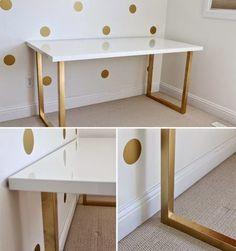 Home-Styling: Gold Spray Works Wonders * Spray Dourado Faz Maravilhas